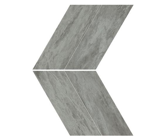 Marvel Stone chevron bardiglio grey di Atlas Concorde | Piastrelle ceramica