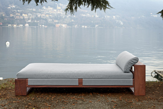 Bellagio chaise longue di Exteta | Lettini giardino