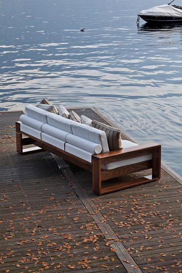 "Bellagio Sofa ""Shipwright"" by Exteta | Sofas"