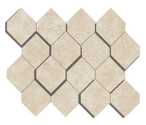 Marvel Stone cream esagono by Atlas Concorde | Ceramic tiles
