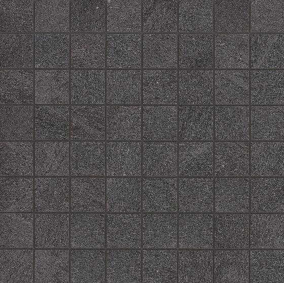Marvel Stone mosaico basaltina by Atlas Concorde | Ceramic tiles