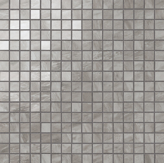 Marvel Stone mosaico lappato bardiglio grey de Atlas Concorde | Carrelage céramique