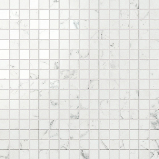 Marvel Stone mosaico lappato carrara von Atlas Concorde | Keramik Fliesen