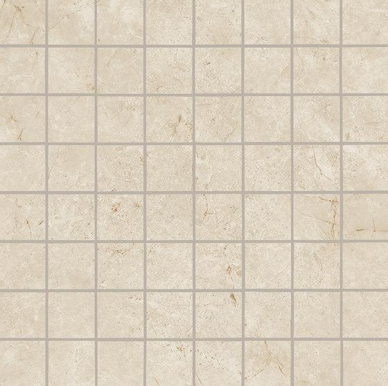 Marvel Stone mosaico matt cream von Atlas Concorde | Keramik Fliesen