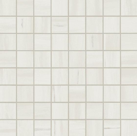 Marvel Stone mosaico matt bianco dolomite von Atlas Concorde | Keramik Fliesen