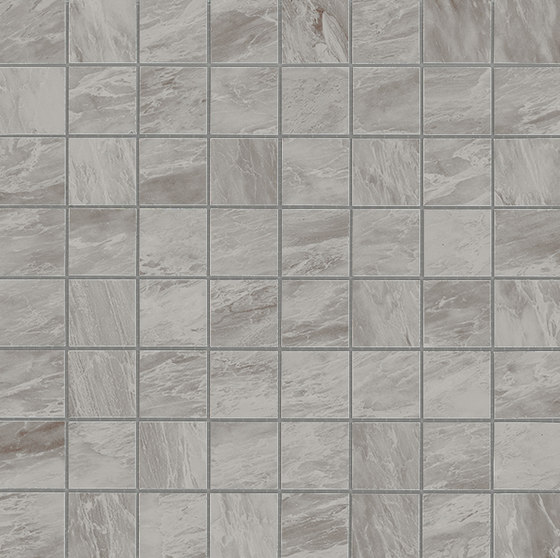 Marvel Stone mosaico matt bardiglio grey by Atlas Concorde | Ceramic tiles