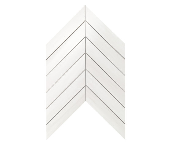 Marvel Stone chevron bianco dolomite de Atlas Concorde | Carrelage céramique