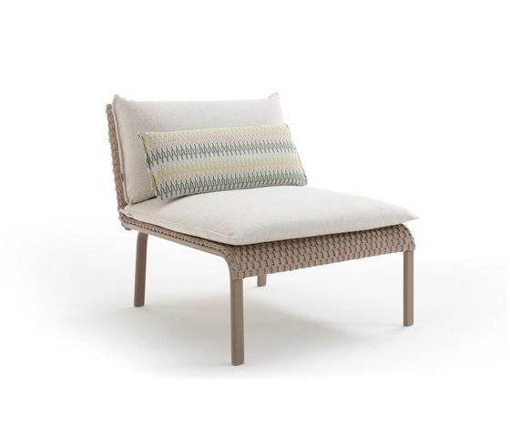 Key West 4231 lounge armchair by ROBERTI outdoor pleasure | Armchairs