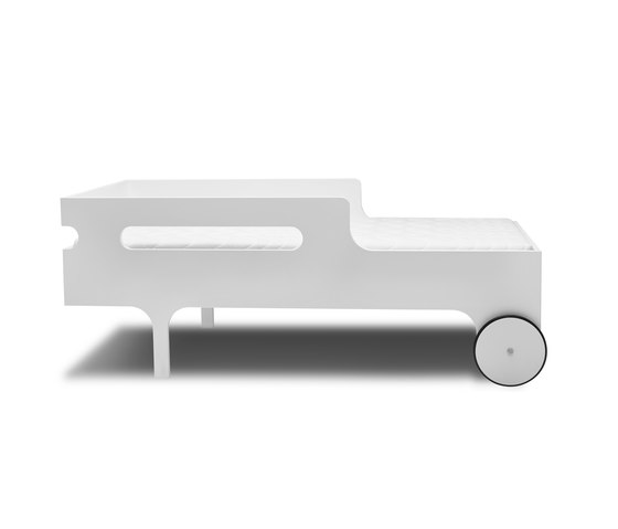 R toddler bed - white by RAFA kids | Kids beds