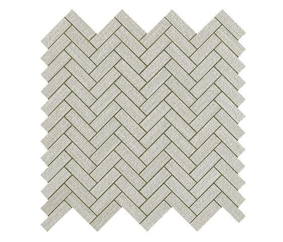 Room pearl herringbone wall by Atlas Concorde | Ceramic tiles