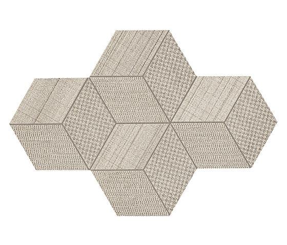 Room cord mosaico esagono de Atlas Concorde | Panneaux céramique