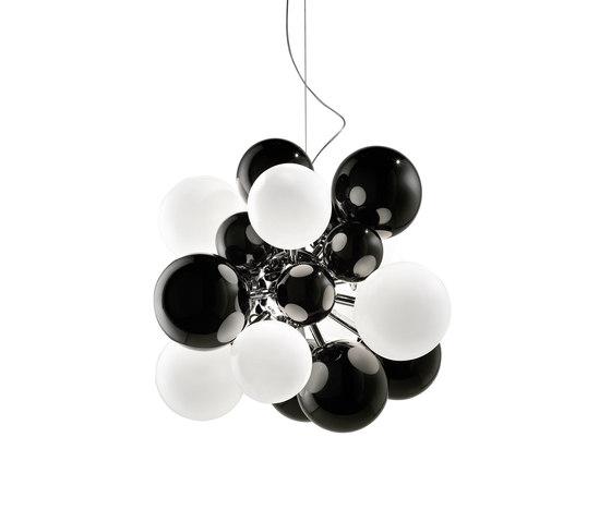 Digit Mini   Chandelier   black de Emmanuel Babled   Lámparas de suspensión