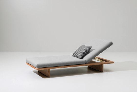 Mesh deckchair von KETTAL | Liegestühle