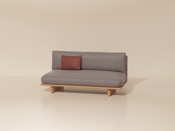 Mesh central module by KETTAL | Sofas