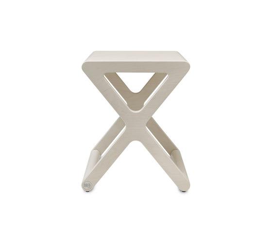 X stool - whitewash by RAFA kids   Stools