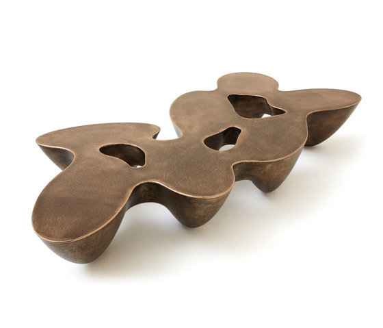 Quark | bronze | 7E de Babled | Mesas de centro