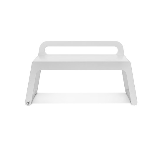 BB90 bench - white de RAFA kids | Bancs