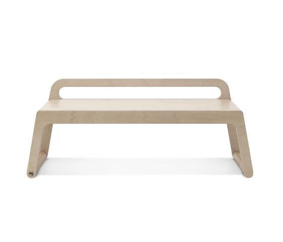 Loft Bench Seat Natural: BB120 BENCH - NATURAL - Benches From RAFA Kids