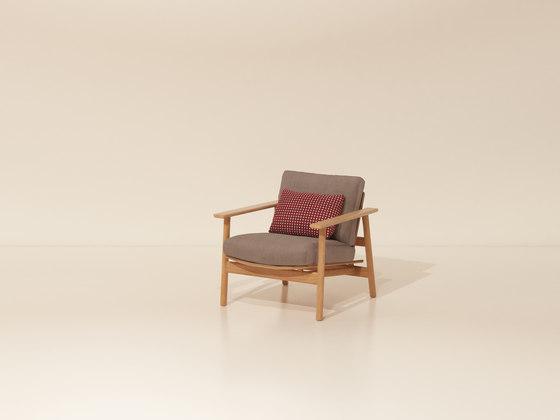 One seater sofa di KETTAL | Poltrone da giardino