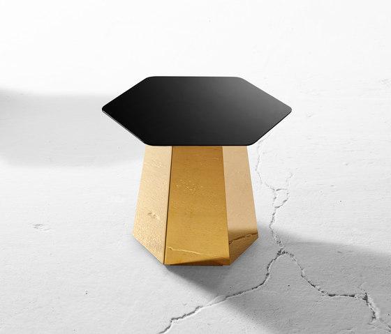 Hext Table di Derlot Editions   Tavolini alti