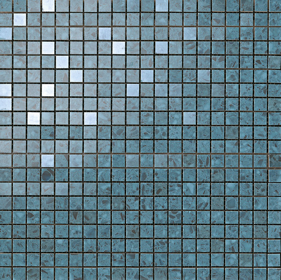 Marvel Gems terrazzo blue mosaico by Atlas Concorde | Ceramic tiles