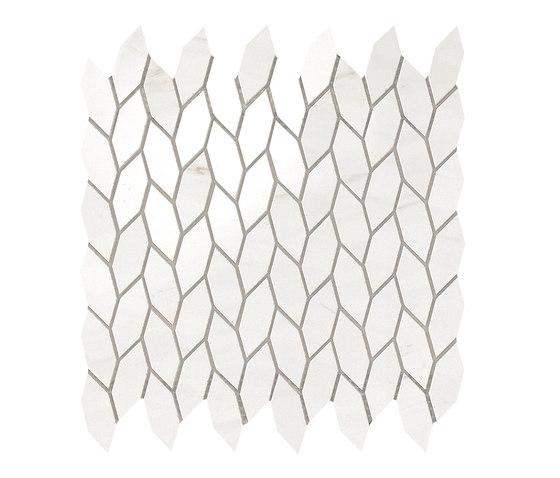 Marvel Stone mosaico twist bianco dolomite de Atlas Concorde | Carrelage céramique