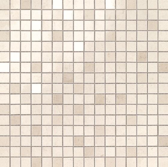 Marvel Stone mosaico creme prestige by Atlas Concorde   Ceramic tiles