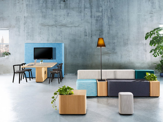 Tetromino by Derlot Editions | Seating islands
