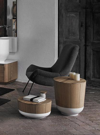 Origin Basket Stool de Inbani | Cestas / Contenedores de ropa