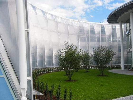 Textile Facade by Koch Membranen | Textile / Membrane facade systems
