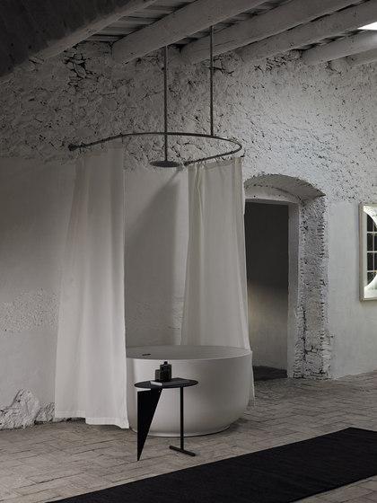 Origin Curtain System U-Form de Inbani | Barras para cortinas de ducha