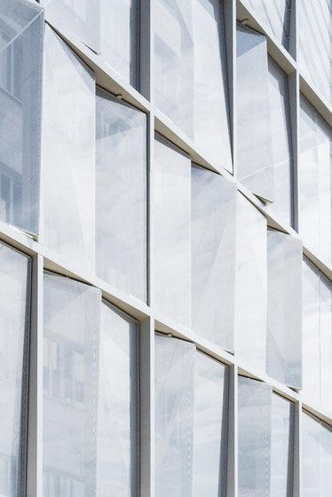 Textile Facade de Koch Membranen | Systèmes de façade