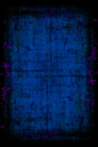 Painted | Composition blue by moooi carpets | Wall-to-wall carpets