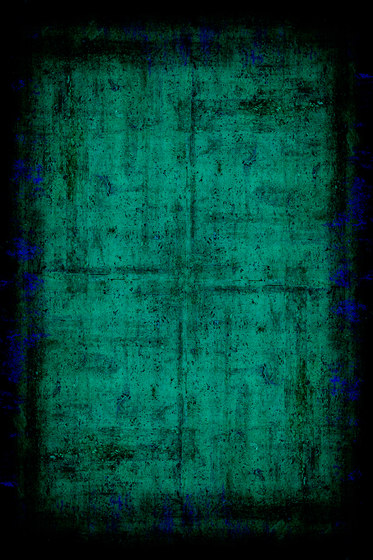 Painted | Composition cyan by moooi carpets | Wall-to-wall carpets