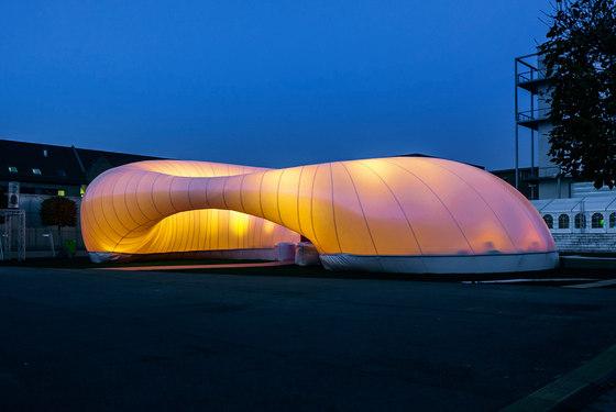 Event & Booth Constructions de Koch Membranen | Architectures textiles