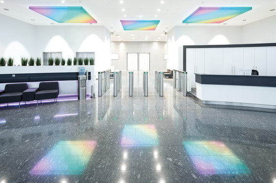 Large-Area Lamp by Koch Membranen | Illuminated ceiling systems