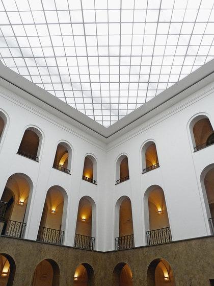 Sound-Absorbing Light Ceiling de Koch Membranen | Plafonds tendus