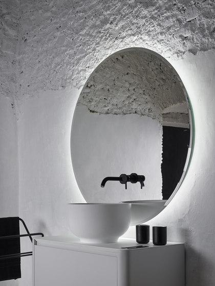 Origin Top Mounted Matt Ceramilux H25 Washbasin by Inbani | Wash basins