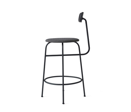 Afteroom Counter Chair   Black/Black Melange by MENU   Counter stools