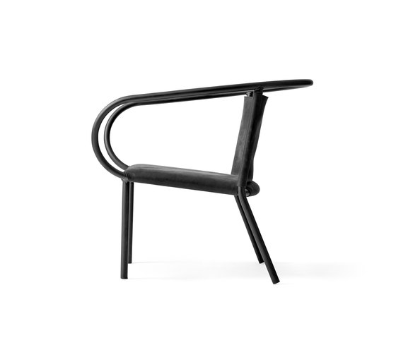 "Afteroom Lounge Chair | Black ""Silk"" by MENU 