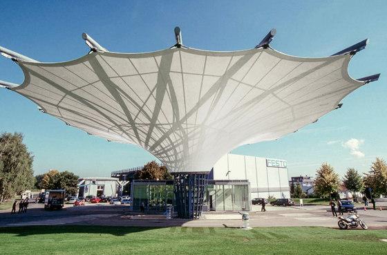 Funnel Umbrella by Koch Membranen | Textile buildings