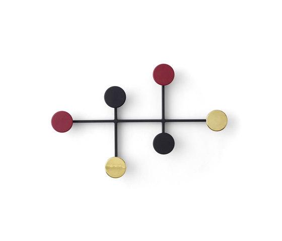 Afteroom Coat Hanger | Black/Brass by MENU | Furniture