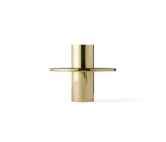 Antipode Candle Holder | 01 Mirror Polished Brass de MENU | Candelabros