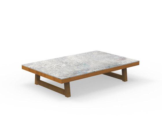 Alabama Iroko | Coffee Table de Talenti | Tables basses de jardin