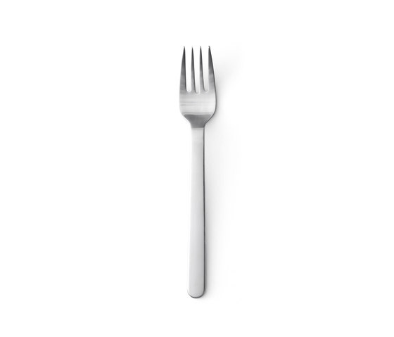 New Norm Fork | Brushed Steel by MENU | Cutlery