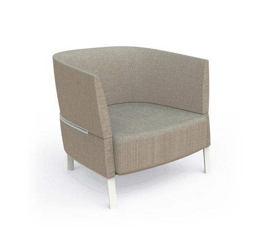 Eden | Lounge Armchair de Talenti | Fauteuils
