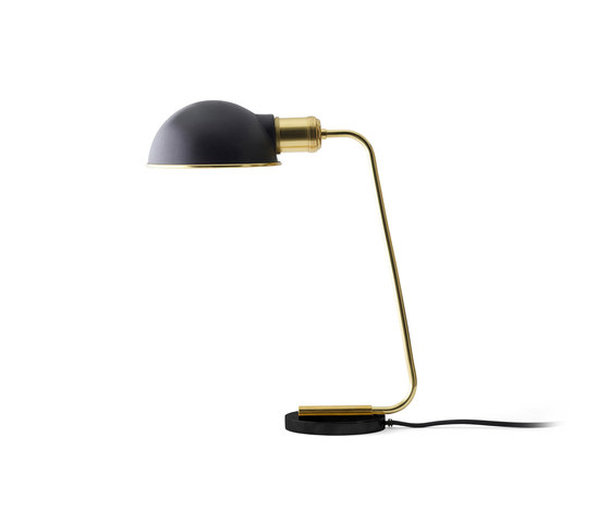 Tribeca Series | Collister Table Lamp Polished Brass by MENU | Table lights