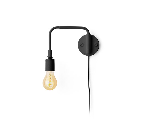 Tribeca Series | Staple Wall Lamp Black de MENU | Lámparas de pared