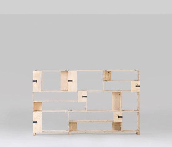 Pakiet | Shelf Set | M de Zieta | Systèmes d'étagères