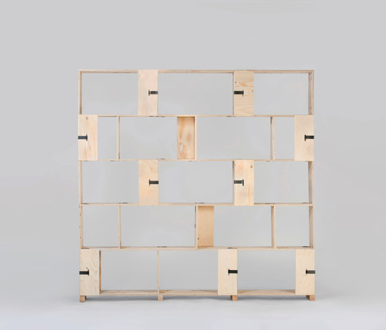 Pakiet | Shelf Set | L di Zieta | Sistemi scaffale ufficio
